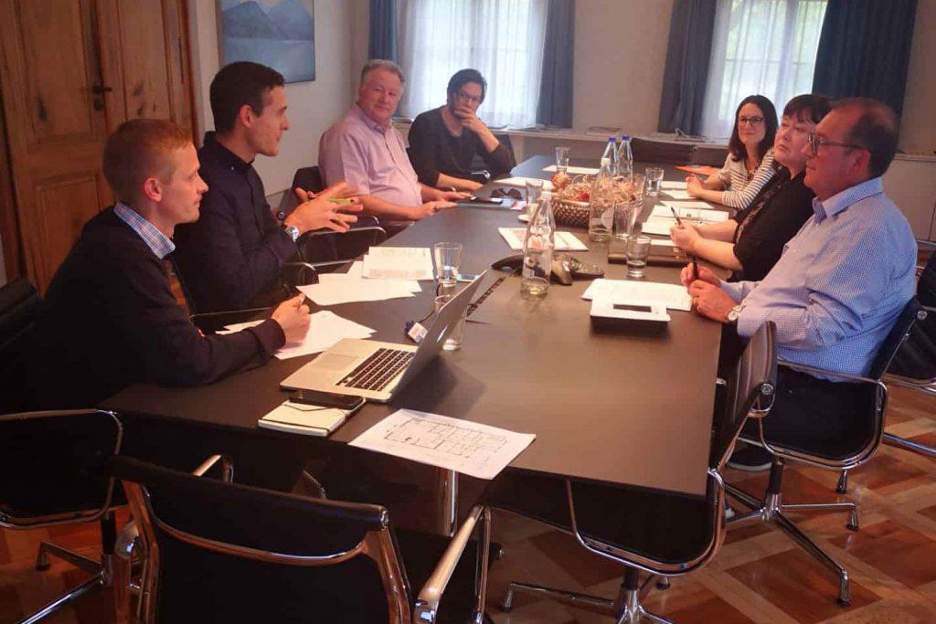 Kick off-Sitzung des Organisationskomitees für die Appenzeller Bachtage 2020